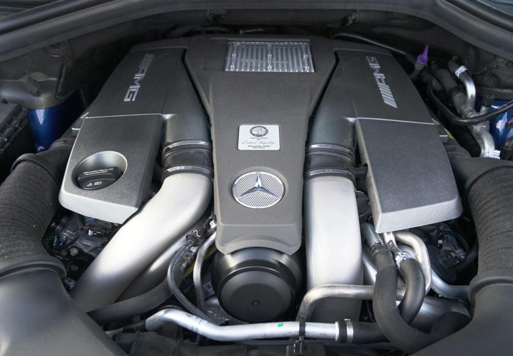 Mercedes AMG GLS Engine