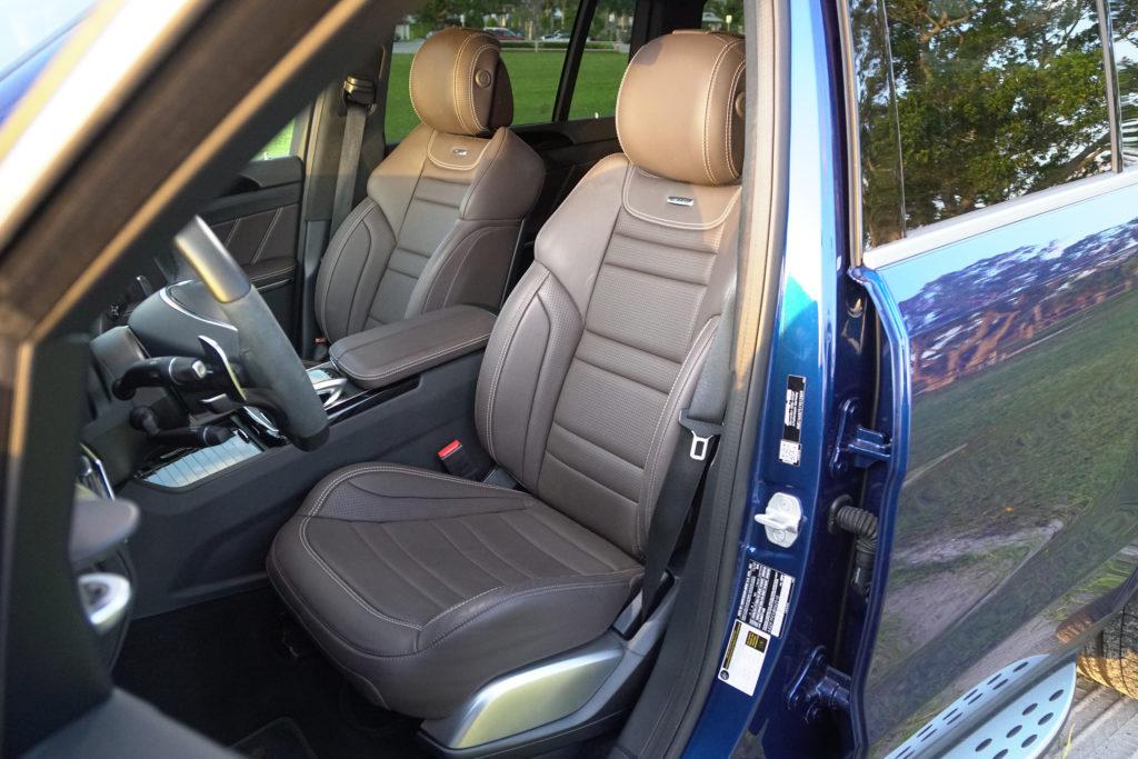 Mercedes AMG GLS 63 Interior