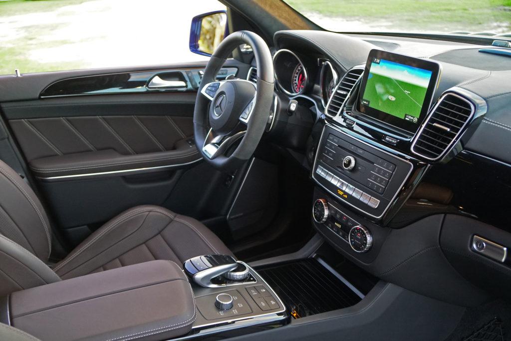 Mercedes AMG GLS 63 Interior shot