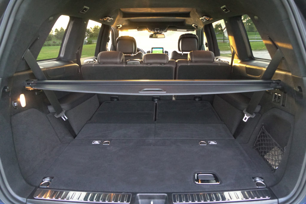 2018 Mercedes-AMG GLS 63 trunk