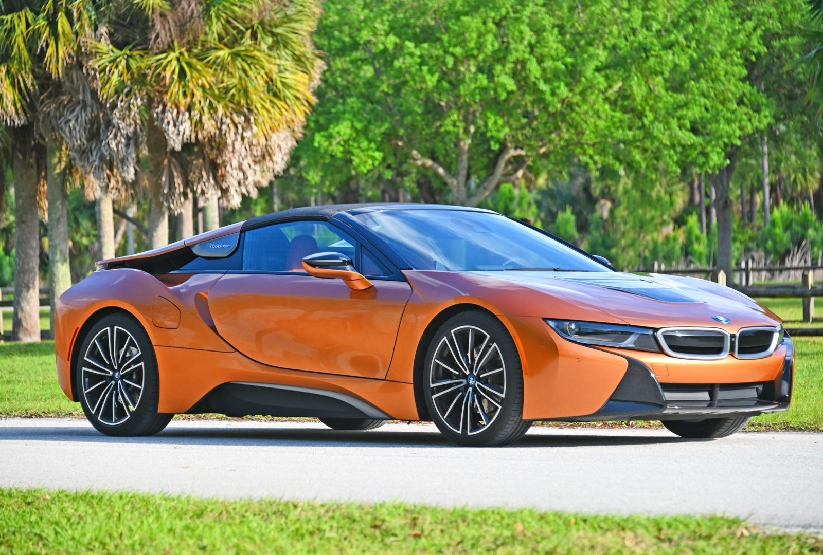 The BMW i8 Roadster Review