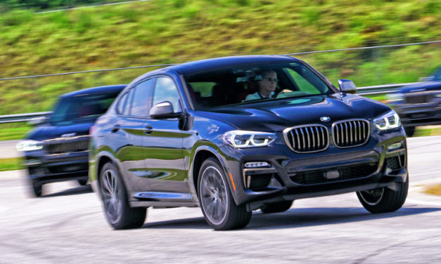 The BMW X4M Review