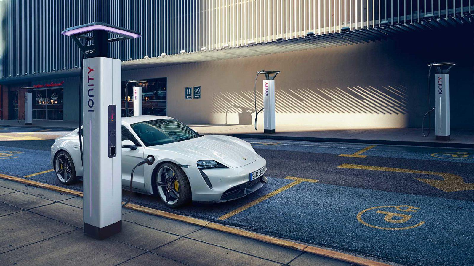 Porsche Releases All-Electric Super Sedan