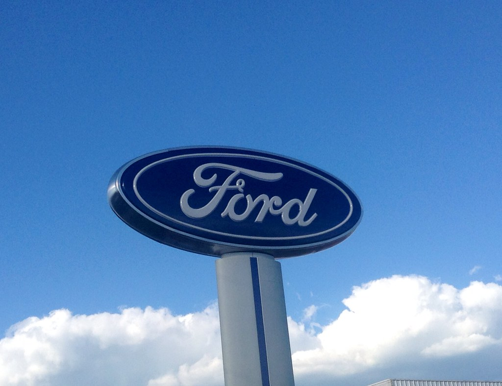 Ford Motors Sign