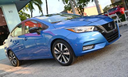 The 2020 Nissan Versa: A first look.