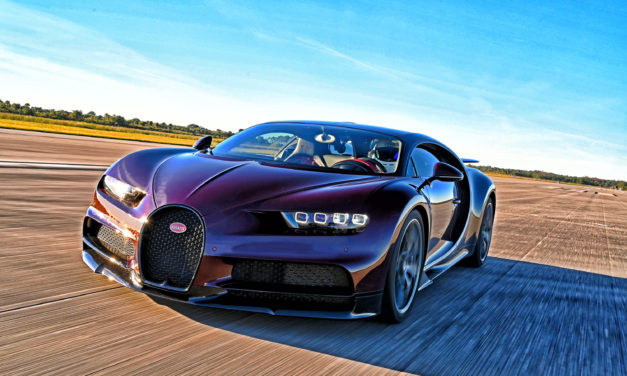 FLYING AT SEA LEVEL: BUGATTI TESTS THEIR CHIRON AT KENNEDY SPACE CENTER