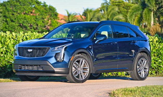 THE CADILLAC XT4 AWD SPORT REVIEW