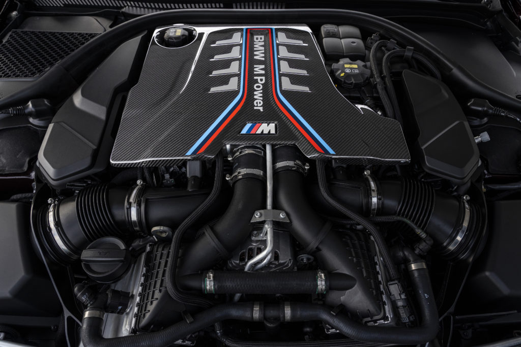 4.4-liter BMW S63 TwinPower Turbo engine
