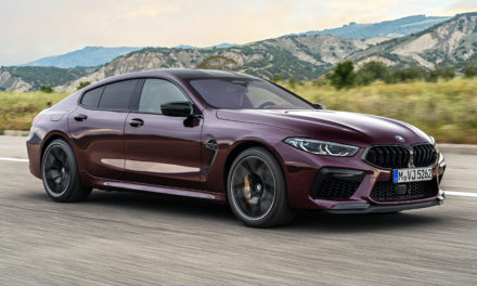 New BMW M8 Gran Coupe Introduction