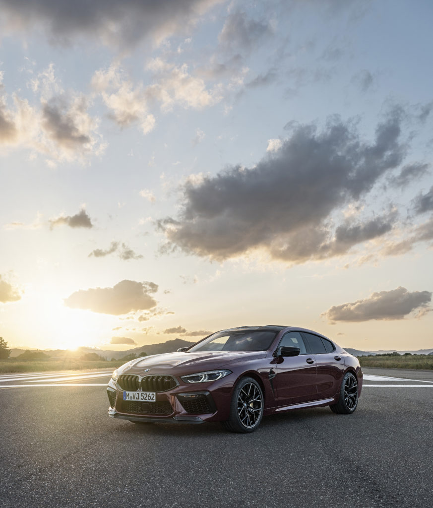 Big Sky with the M8 Gran Coupe