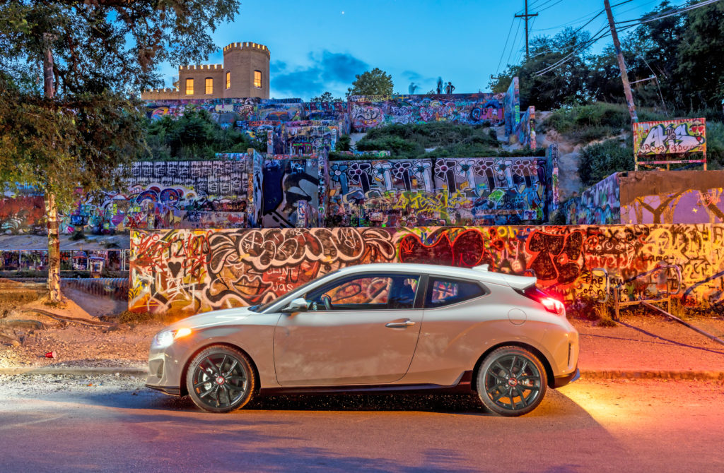Veloster with Austin Art