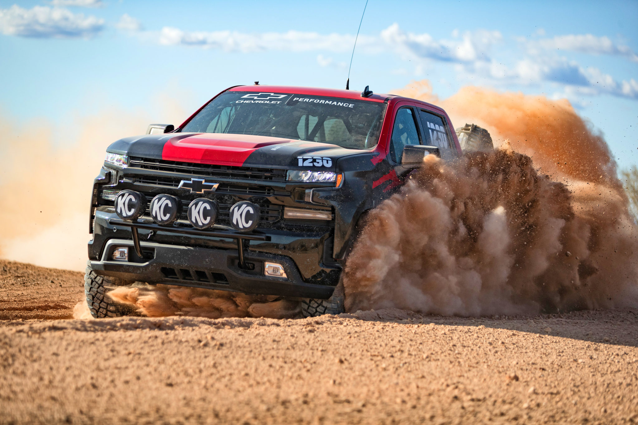 Racing improves the breed: Chevrolet Silverado to make off-road racing debut.