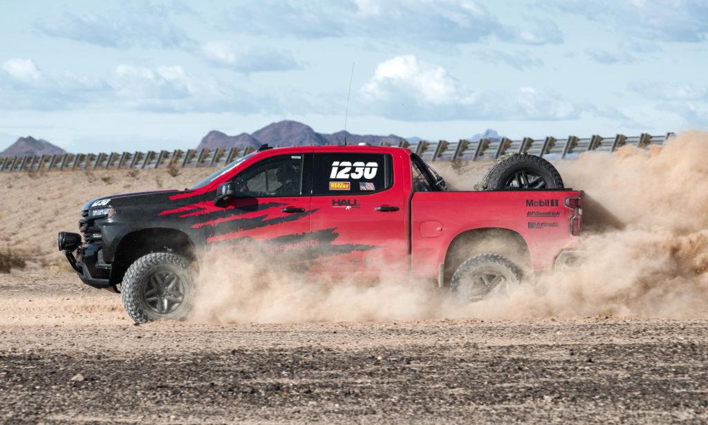 Chevrolet Silverado Off-Road Race Truck