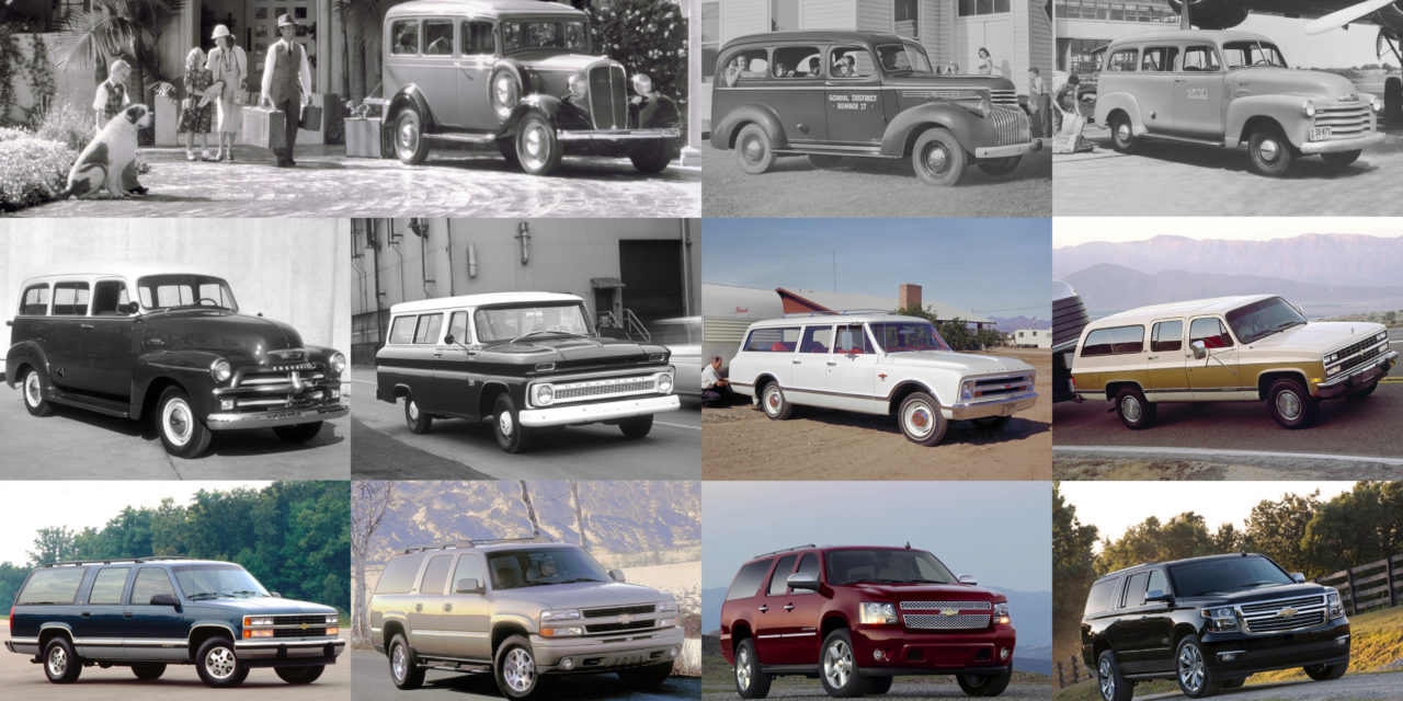 Eighty-Five Years Of The Chevrolet Suburban