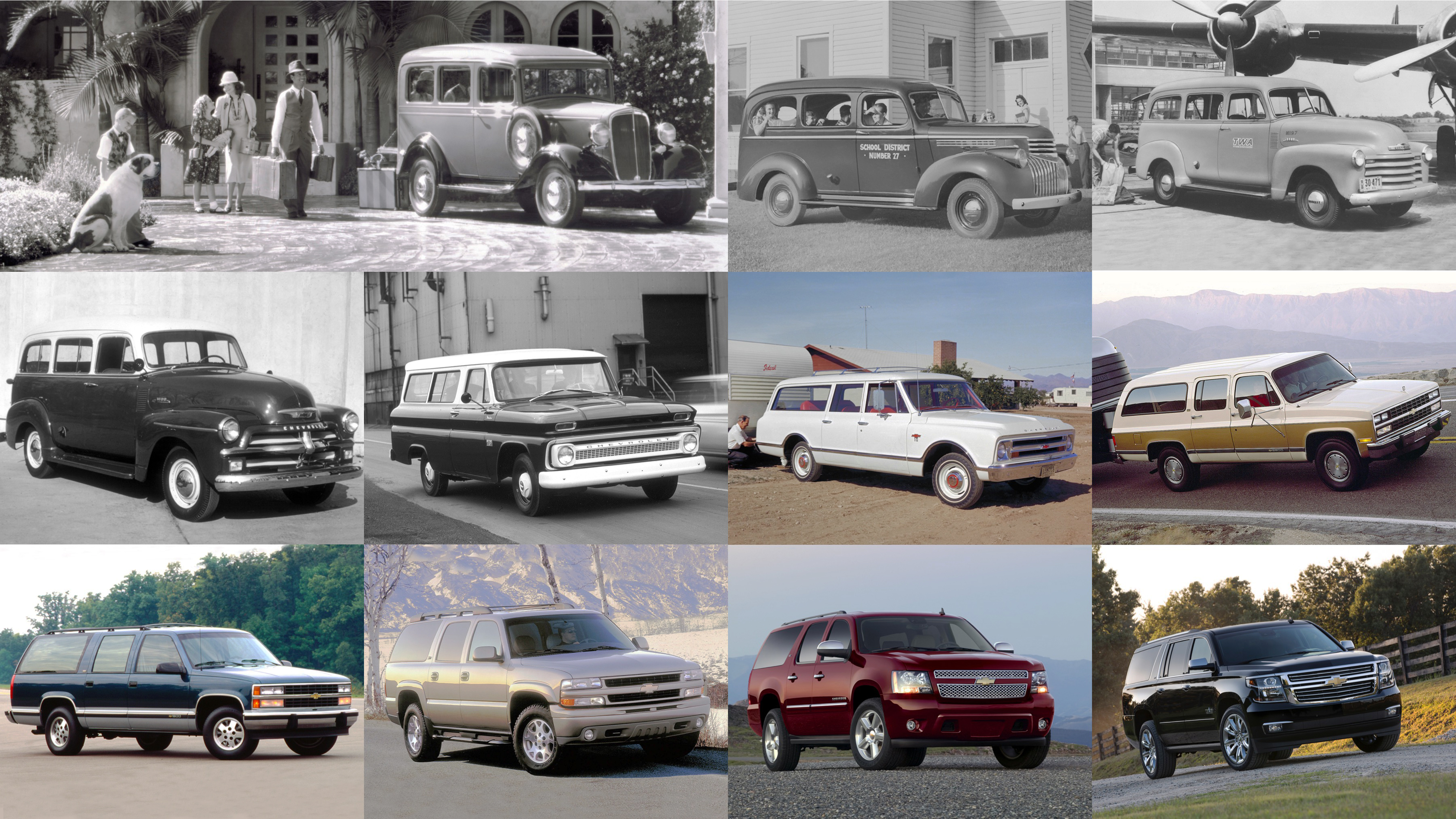 Suburbans through the years