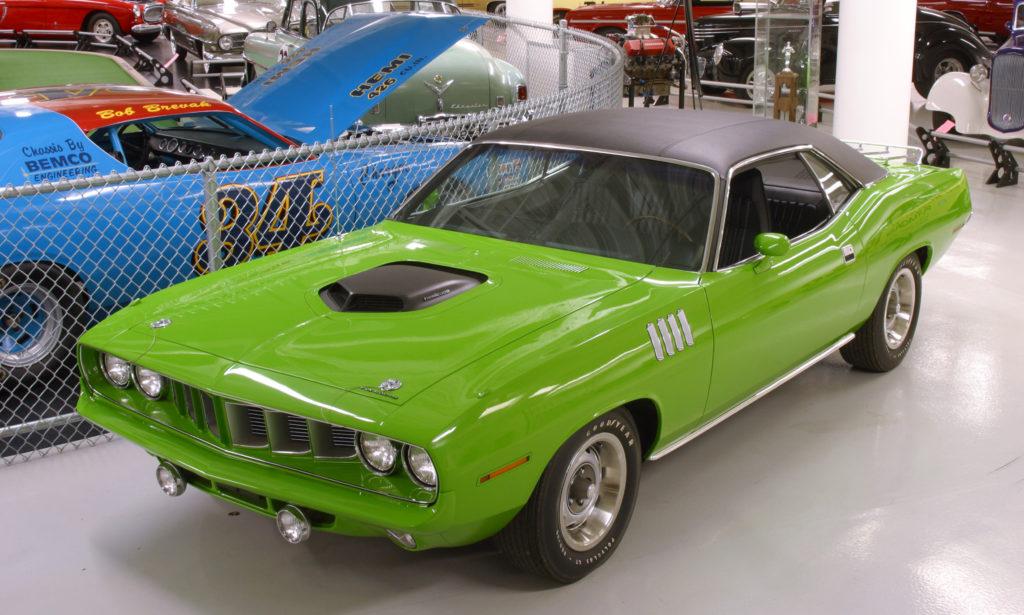 1971 Grass Green Hemi Cuda