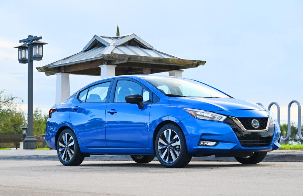 Nissan Versa at the Pagoda