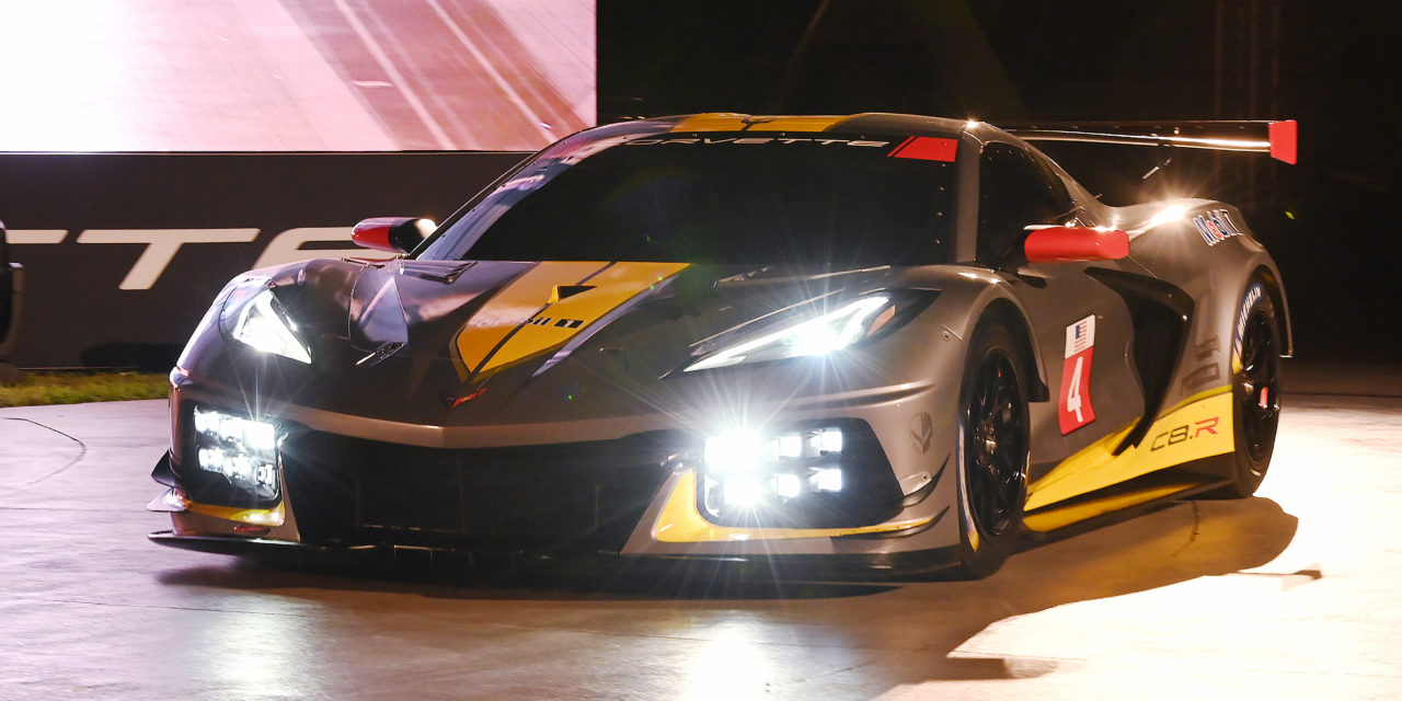EVERYBODY LOVES A SURPRISE: CHEVROLET INTRODUCES THE NEW C8.R RACE CAR AT KENNEDY SPACE CENTER