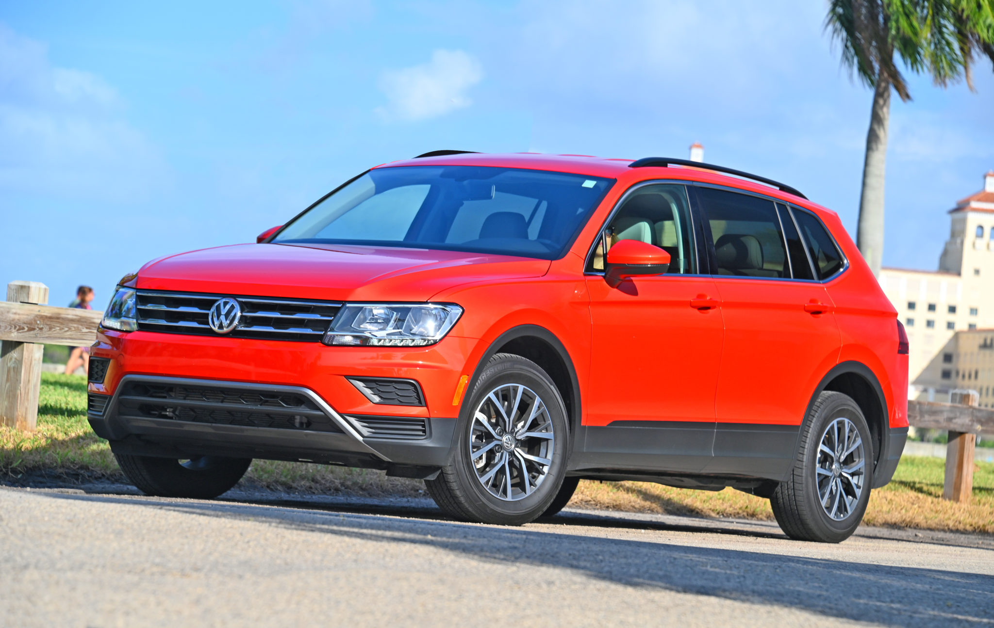 The Volkswagen Tiguan SE Review.