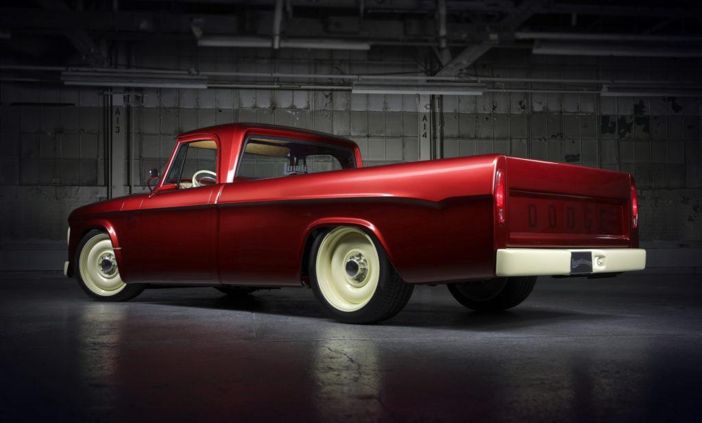 Dodge D200 Rear View