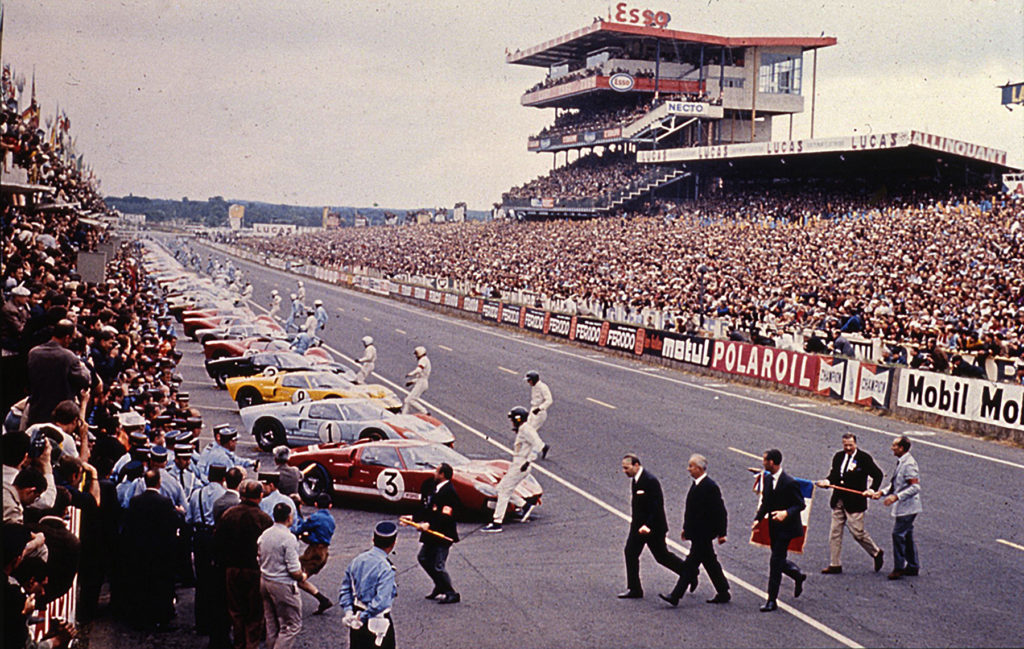 Standing Start At Le Mans