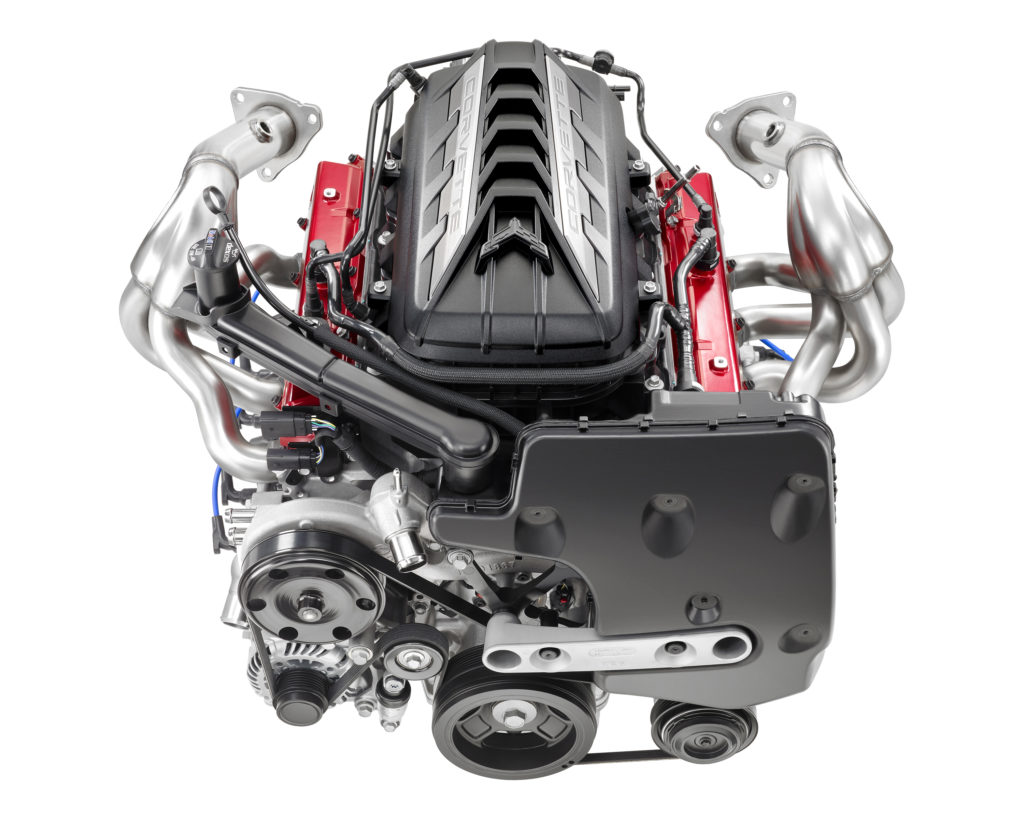 Corvette Rear View engine