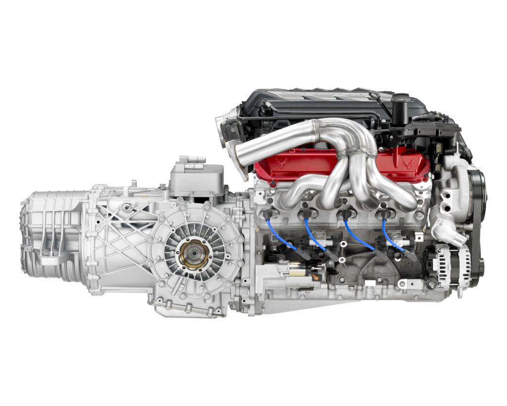 Stingray LT2 V8 side view
