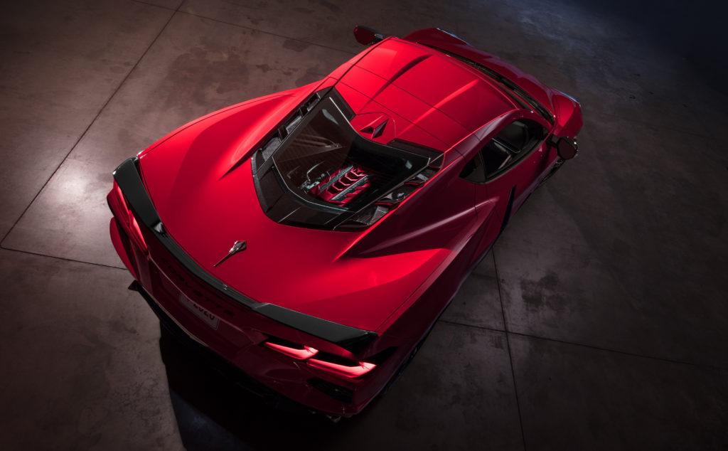 Nice rear view of Corvette Stingray