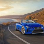 Lexus LC 500 Convertible on PCH