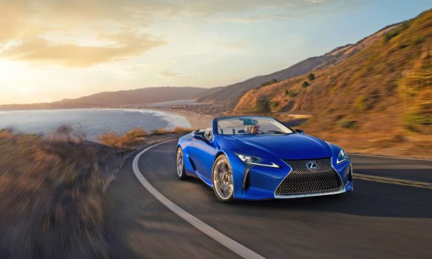 The LEXUS LC 500 CONVERTIBLE GLOBAL DEBUT AT AUTOMOBILITY LA