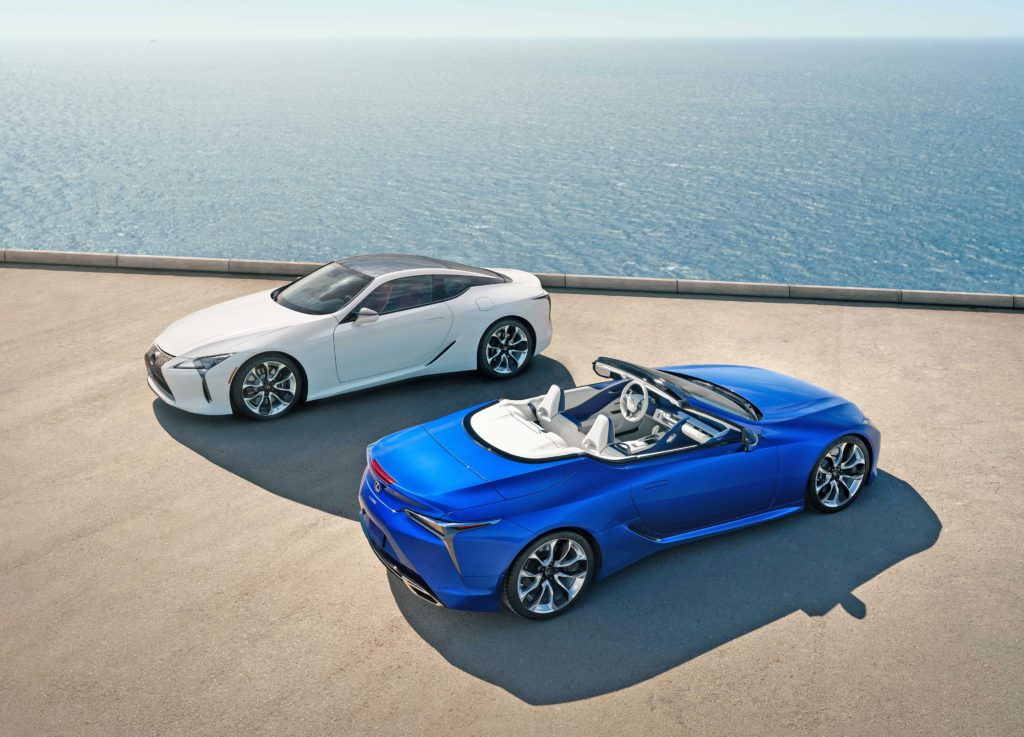 LC 500 Coupe and Convertible
