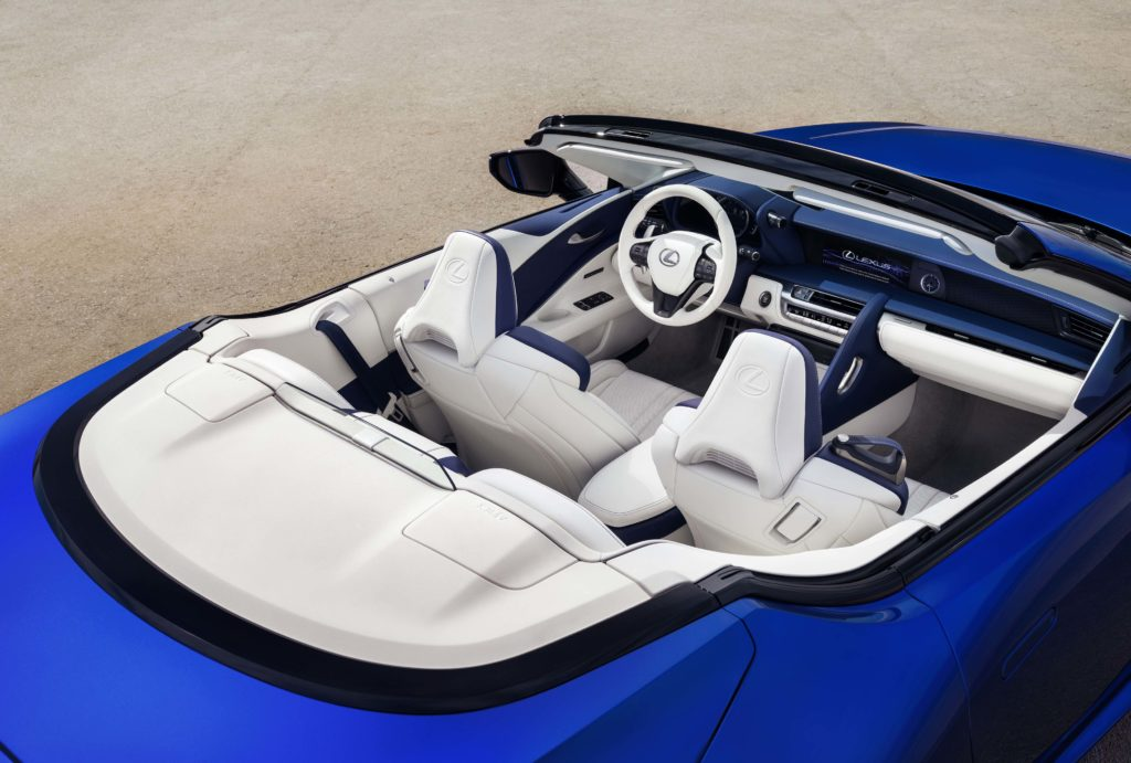 Interior from above LC 500