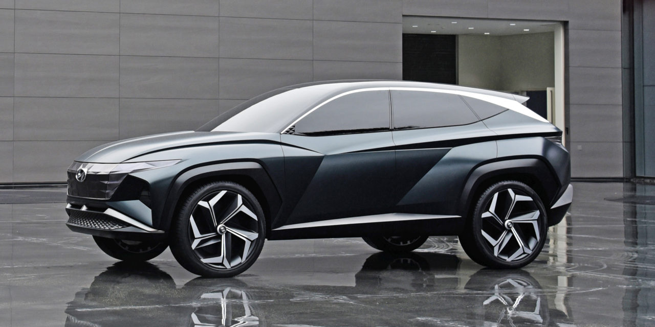 HYUNDAI NEW CONCEPT SUV AND MODELS AT LA AUTO SHOW