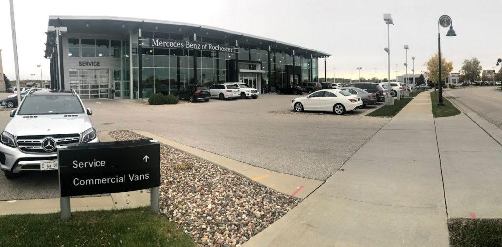 Mercedes-Benz Ed Napleton