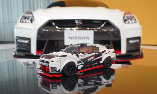 LEGO NISSAN GT-R NISMO CELEBRATES 50 YEARS OF THE REAL THING