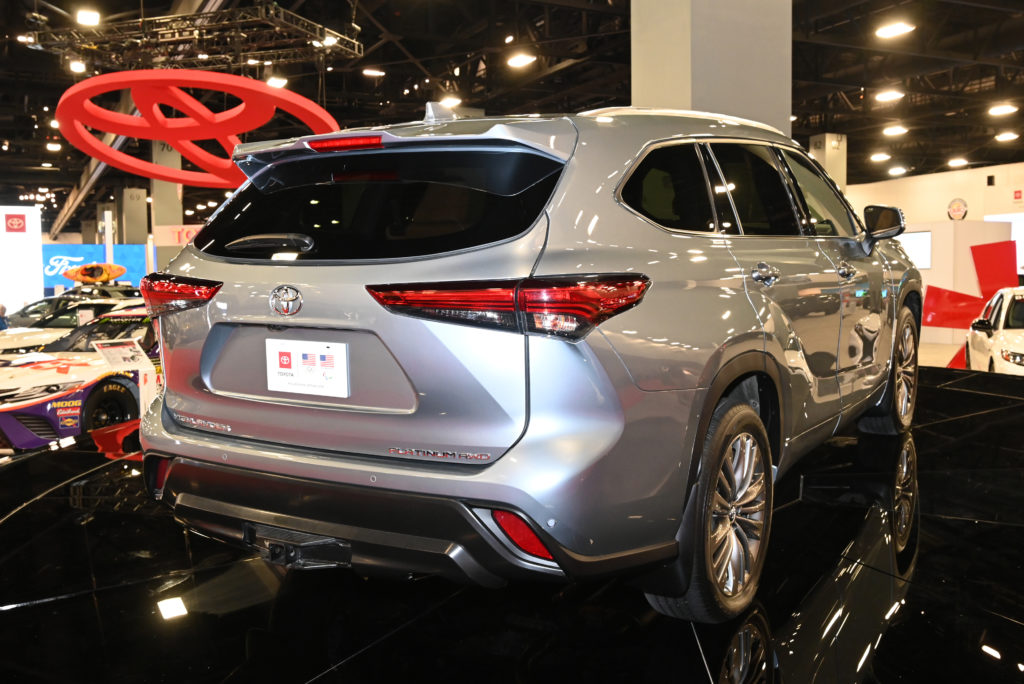 Toyota Highlander Rear