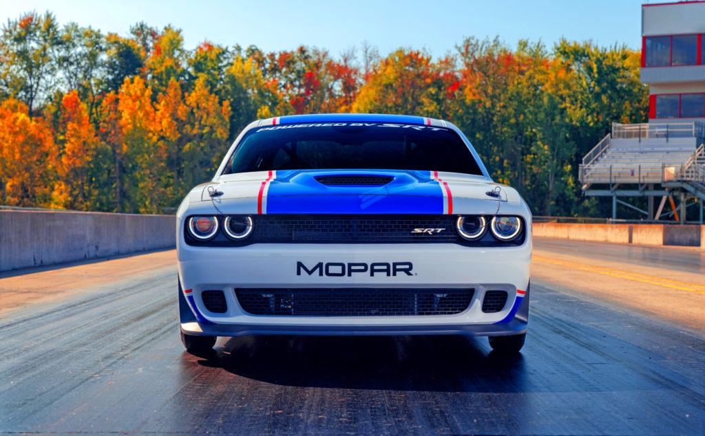 MOPAR Challenger Drag Pak Heading your way.