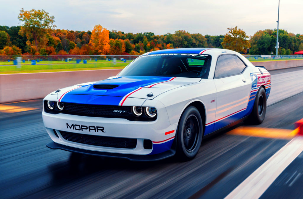Dodge Challenger Drag Pak challenges the status quo