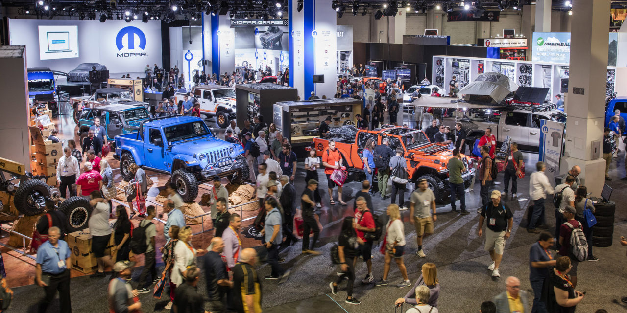 SEMA Show Wrap-up from the MOPAR Booth