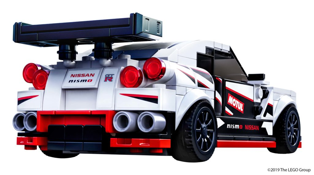 GT-R NISMO rear view