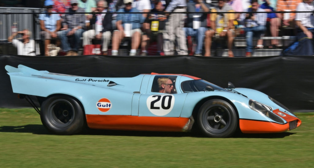 Porsche 917 Le Mans Movie Car