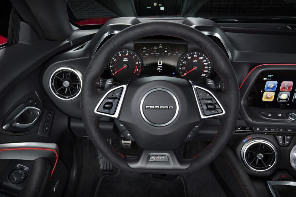 Camaro Driver's side interior