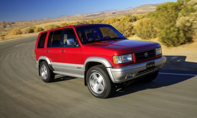 Acura Breathes Life Back Into Vintage '90s SUV