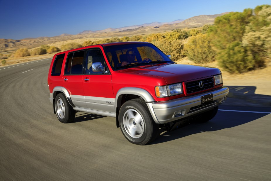 Acura Breathes Life Back Into Vintage '90s SUV