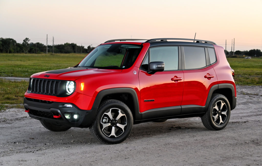 Jeep Renegade Left front view