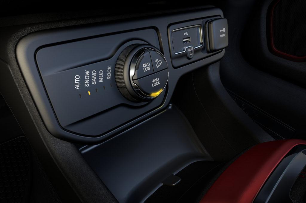 Jeep Selec-Terrain knob