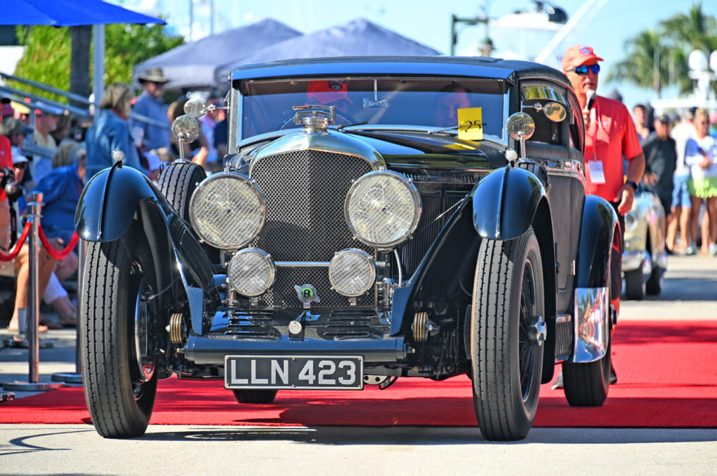 Ocean Reef Vintage Weekend Bentley Blue Train Tribute