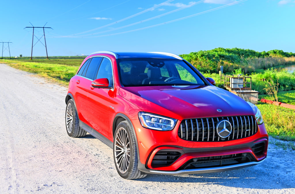 AMG GLC 63 Down the Line