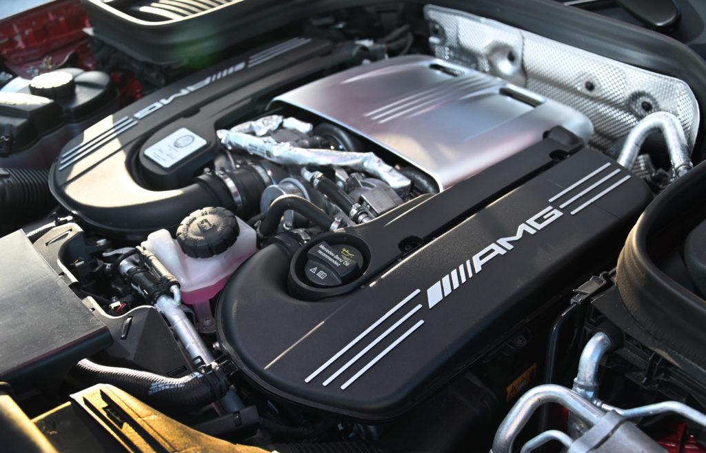 AMG 4.0-liter Biturbo Hero pic