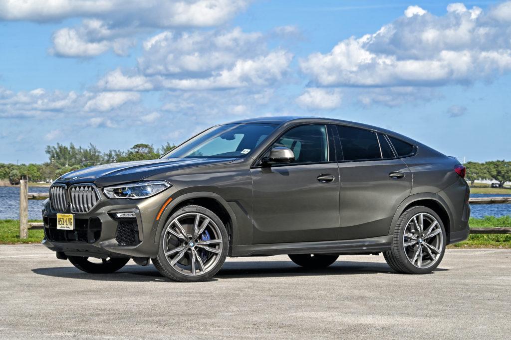 BMW X6 3/4 view